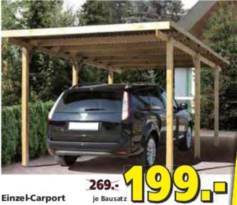 Carport Bauhaus Carport