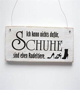Schuhe Sind Rudeltiere : schuhe sind rudeltiere dekoschild t rschild shabby von d rpkind auf mehr ~ Markanthonyermac.com Haus und Dekorationen