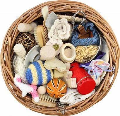 Treasure Basket Years Play Heuristic Sensory Natural
