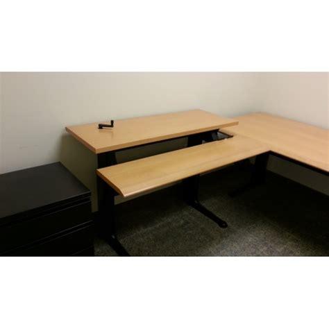 herman miller standing desk herman miller height adjustable sit stand workstation desk