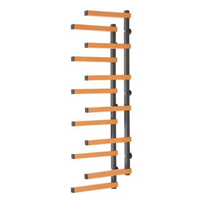 triton tools wall mounted organization wra wood rack