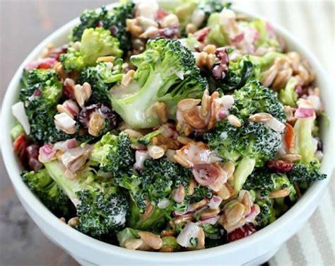 meilleure cuisine au monde la meilleure recette de salade brocoli crémeuse