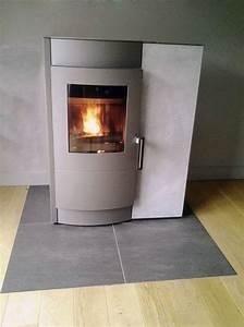 Poele A Granule Mixte : po le bois granul s design 14 mod les de po les bois ~ Farleysfitness.com Idées de Décoration