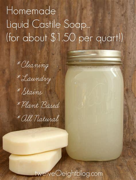 diy recipe how to make liquid castile soap