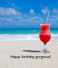 Happy Birthday Beach Drinks