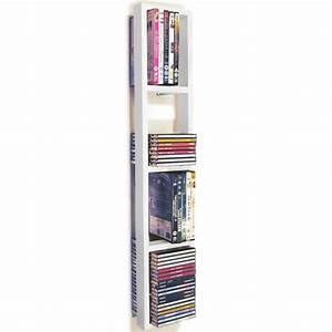Range Cd Mural : isis tag re murale de rangement cd dvd blanc achat ~ Teatrodelosmanantiales.com Idées de Décoration
