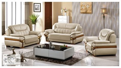 2 Leather Sofa Set by Iexcellent Modern Design Genuine Leather Sectional Sofa