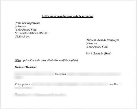 modele lettre préavis 1 mois logement doc modele preavis un mois