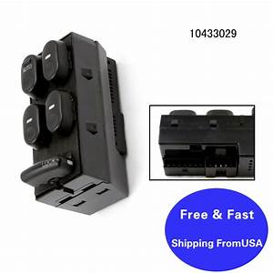 New Master Power Window Lock Switch For Buick Regal Gs