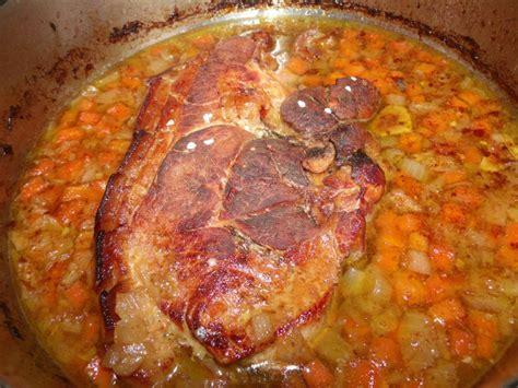 cuisiner la rouelle de porc rouelle de porc confite au four la taverne de ginia