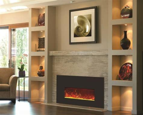 cheminee avec insert design pour  interieur chaleureux