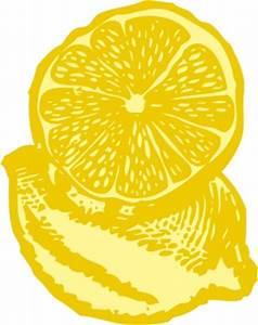 Free Vintage Lemon Clipart