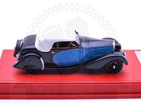 The bugatti type 57 t concept was created by palestinian automotive artist and exterior designer arthur b. Bugatti T57 Stelvio 1936 Black/Blue by Evrat