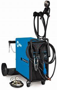 Millermatic 252 Mig Pkg With Spoolmatic 30a 208  230 Volt
