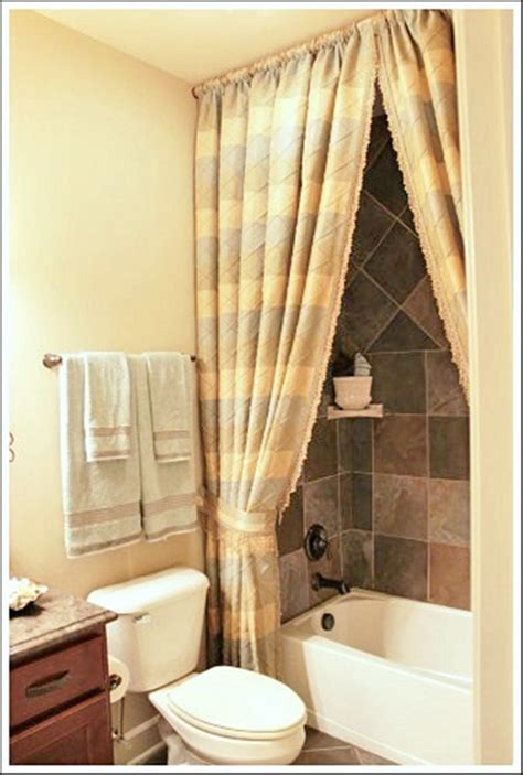 bathroom drapery ideas the importance of the shower curtains and a