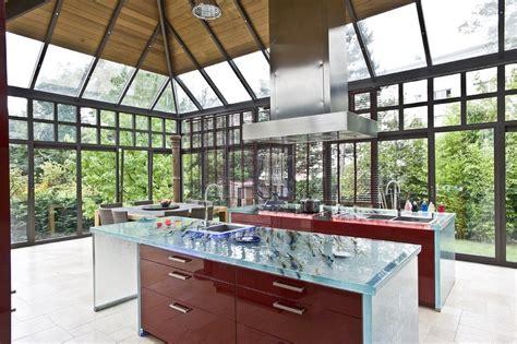 plan de travail cuisine darty 5 plans de travail en verre d 39 exception cuisines et bains