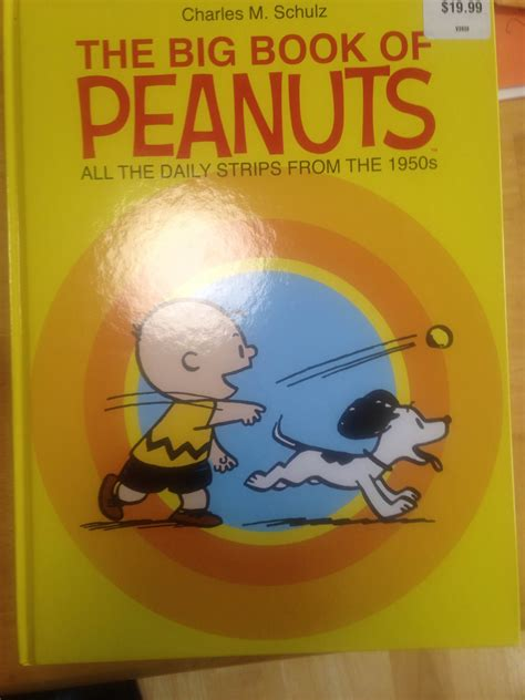 The Big Big Book Of Peanuts Strikes Again!  The Aaugh Blog