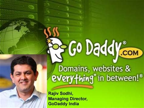 domain registration giant godaddy pitches tent  india