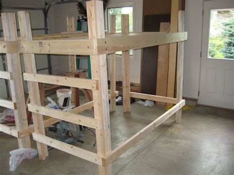 college bed loft twin xl  steps  pictures