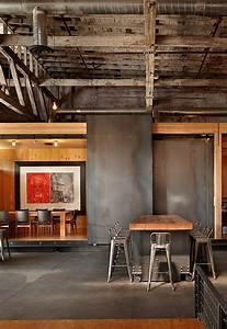 Metal + Wood: a match made in -- interior design -- heaven ...
