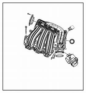 2008 Chrysler Sebring Plenum  Intake Manifold
