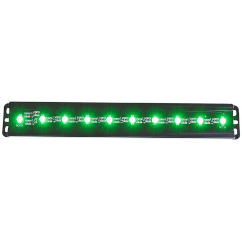 anzo usa 861151 slimline led light bar 12 quot green leds ebay
