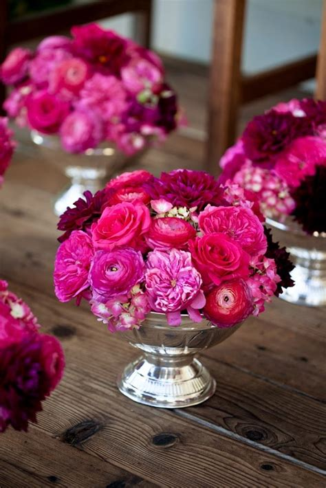 1000 Ideas About Pink Wedding Centerpieces On Pinterest
