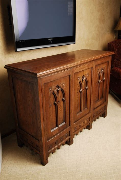 custom made cabinet doors custom made oak cabinet with antique doors by schmitt
