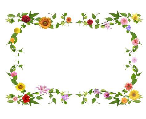 cornici con fiori carta da parati cornice di fiori pixers 174 viviamo per