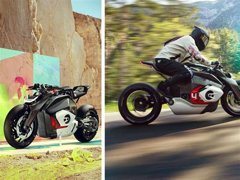 Bmw Electric Motorcycle by The New Bmw Electric Motorbike Hints At The Future Of