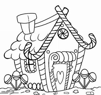 Coloring Gingerbread Pages Printable