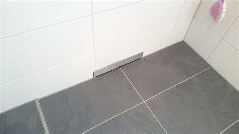 Wieviel Gefälle Bodengleiche Dusche by Bodengleiche Dusche Mit Duschrinne 1 Gef 228 Lle Ok