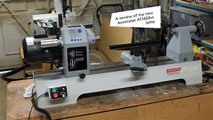 9 My New Axminster At1628vs Woodturning Lathe