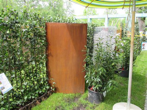 Sichtschutz Garten Aus Cortenstahl by Sichtschutz Cortenstahl Vista 180 X 100 Ohne Motiv Www