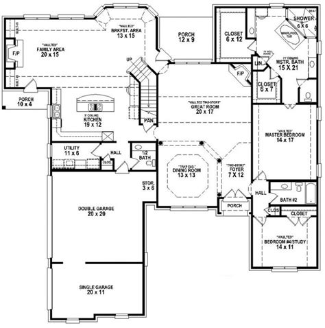 house plans with and bathrooms 654265 4 bedroom 3 5 bath house plan house plans