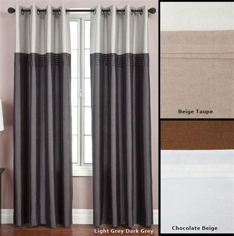 flight lined grommet top 95 inch curtain panel