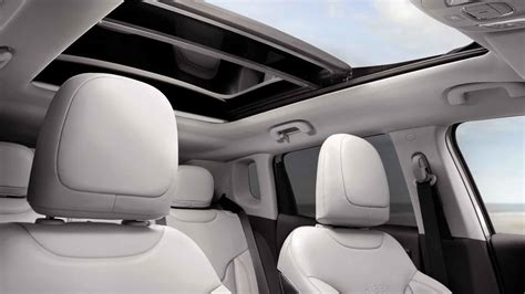 jeep compass 2018 interior sunroof 2018 jeep compass review stylish look brings appeal