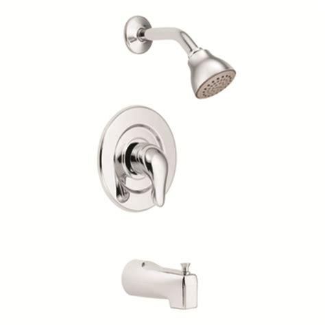 bathtub faucet kit shop moen chateau chrome 1 handle watersense bathtub and