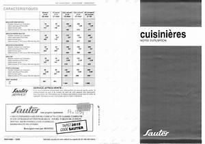 Notice Four Sauter : notice cuisini re sauter 620cc2gan trouver une solution un probl me sauter 620cc2gan mode d ~ Dallasstarsshop.com Idées de Décoration