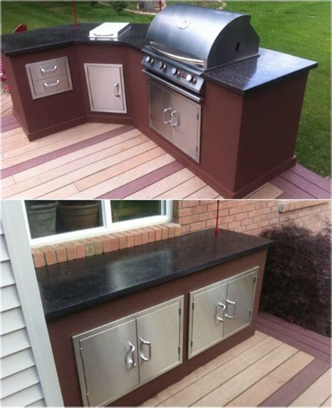 amazing diy outdoor kitchen plans   build