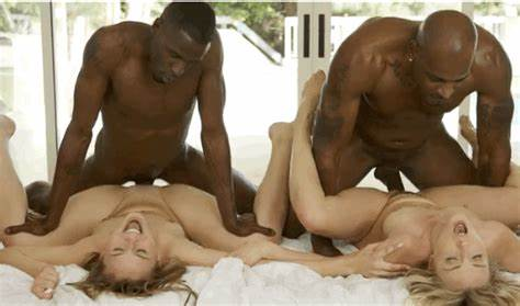 Four Brunette Chicks On Black Guys Lord Perious