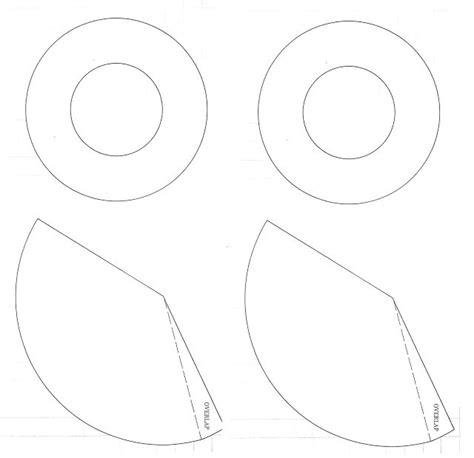 witchs hat templates halloween pinterest hat template
