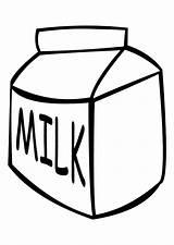 Milk Coloring Leche Colorear Dibujo Latte Disegno Colorare Milch Malvorlage Melk Kleurplaat Lacteos Ausmalbild Dairy Dibujos Pintar Lait Ausmalen Disegni sketch template