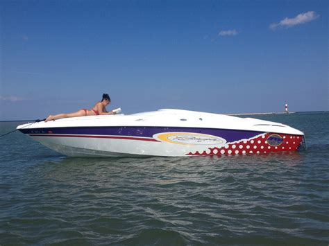 Fast Baja Boats by Baja 25 H2x Cigarette 2001 For Sale For 200 Boats From