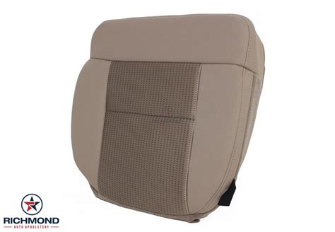 manual repair autos 2008 ford f150 seat position control 2007 2008 ford f 150 xlt cloth seat cover driver bottom tan richmond auto upholstery