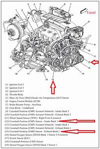 2012 Chevy Traverse Engine Diagram Camshaft Sensor Locations