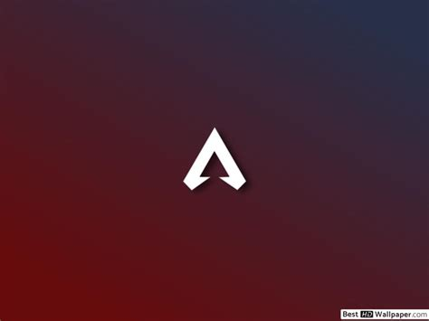apex legends logo red background hd wallpaper