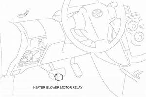 Heater Blower Motor Relay Components