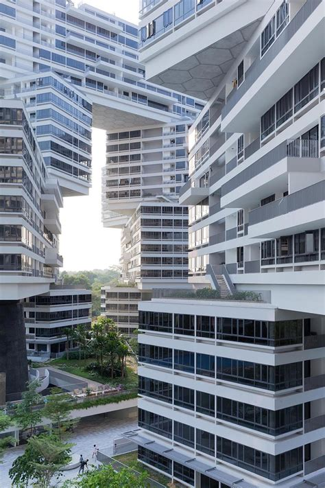 interlace vertical village apartment complex