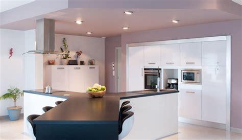 realisation cuisine modern kitchen with a y island harmonie model